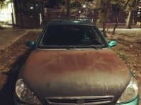 Rusty car in Armyansk. 17 September. Source: Twitter/KrumRt