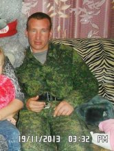 Aleksandr Desyatov (2013 photo from his social profile), near Ilovaisk he sustained multiple burns when his MT-LB was downed, thus in his photos in captivity he had a fully bandaged face.