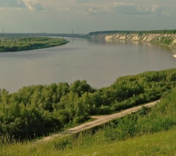 Irtysh River in Tobolsk, Russia (Photo: Wikimedia Commons)