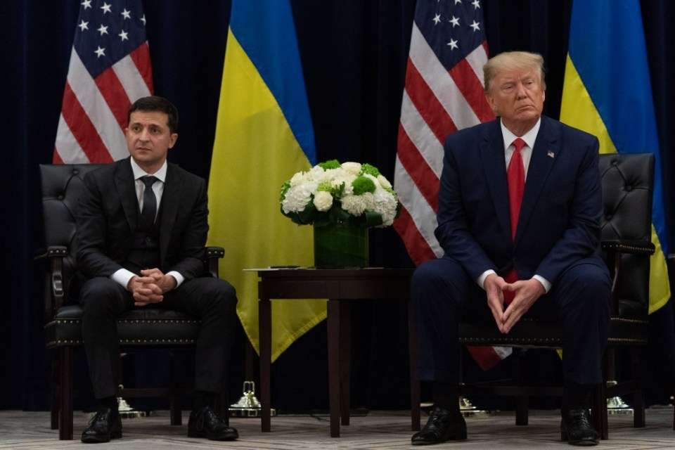 President of Ukraine Volodymyr Zelenskyy and US President Donald Trump meeting at the UN General Assembly in New York on September 25, 2019 (Photo: president.gov.ua)