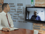 Russian political analyst Andrey Piontkovsky in EspresoTV program Studio West with Antin Borkovskyi, September 7, 2019 (Photo: screen capture)