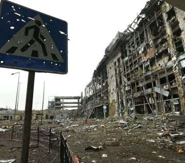 An apartment block in Donbas. Source: glavcom