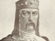 """Image of Volodymyr the Great of Kyiv in the 2nd edition of Mykola Arkas's """"History of Ukraine-Rus"""" published in Krakow, 1912."""