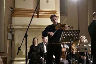 Ukrainian Festival Orchestra in the first concert - Forbidden Music - on September 26, 2021. Photo: Eugene Chervony