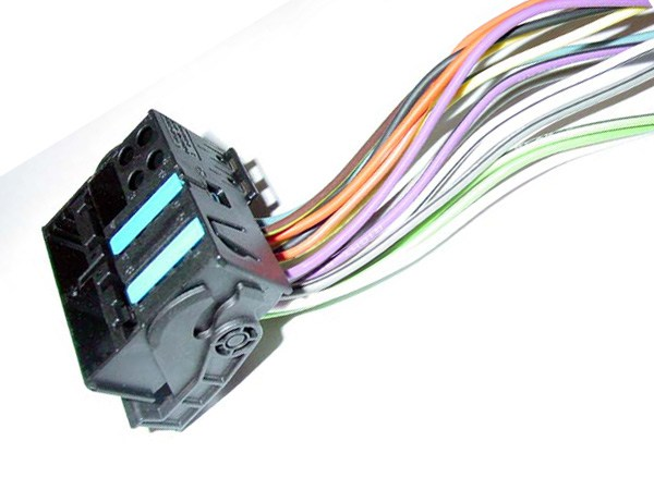 BMW VAG (2002+) REVERSE Radio Wiring Harness For Factory