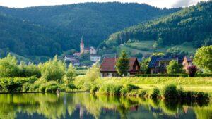 Kinzig im Schwarzwald, Natur, Seen, Berge, Wandern