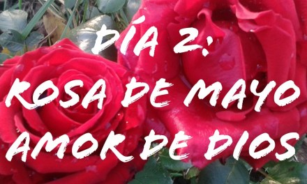 DIA 2, ROSA DE MAYO. AMOR DE DIOS