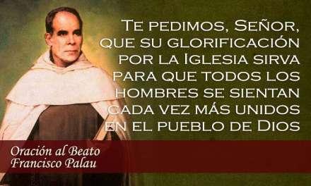24 de abril: 32º Aniversario de la beatificación de Francisco Palau y Quer, Fundador del Carmelo Palautiano