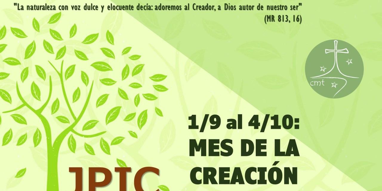 TIEMPO DE LA CREACIÓN AL ESTILO PALAUTIANO: INVITACIÓN DEL EQUIPO PROVINCIAL DE JPIC