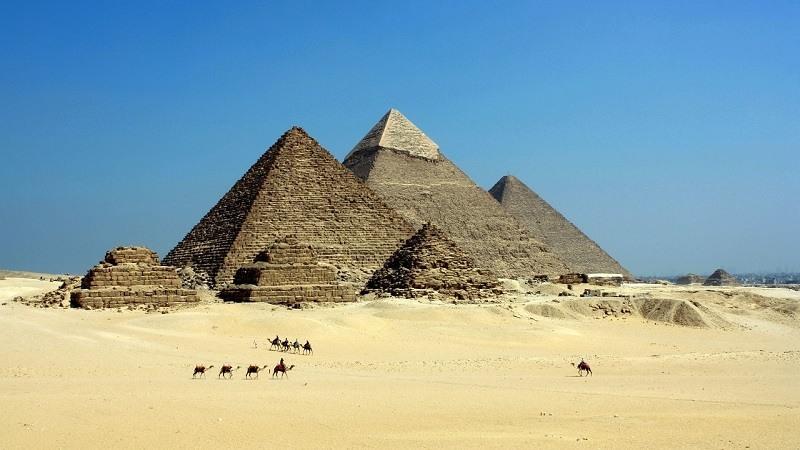 Construccion de Las Piramides de Egipto