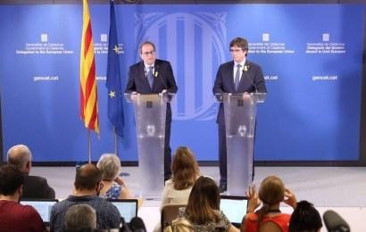 """Puigdemont a su regreso a Bélgica: """"el periodo de gracia de Sánchez se acaba"""""""
