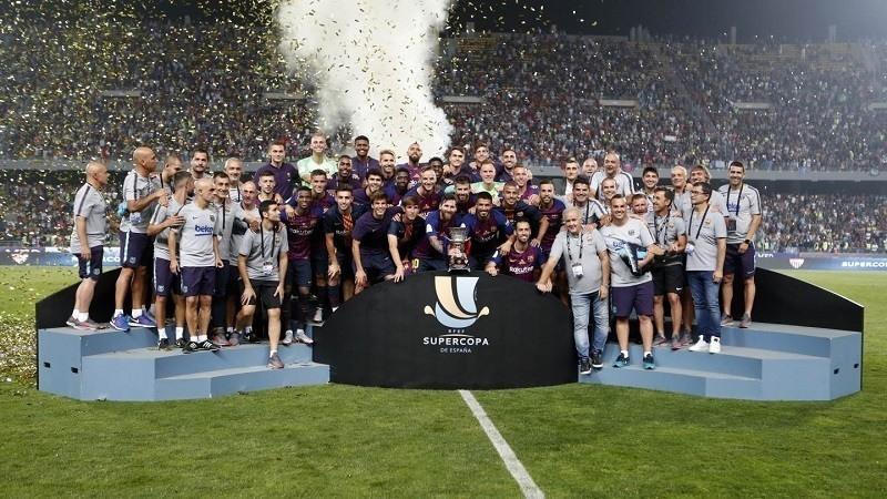 El Barça gana la Supercopa de España 2018