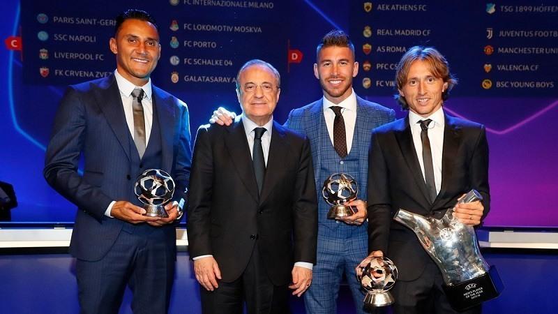 Gala UEFA @realmadrid
