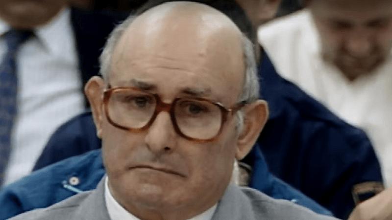 Manuel Charlín declarando en un Jucio.