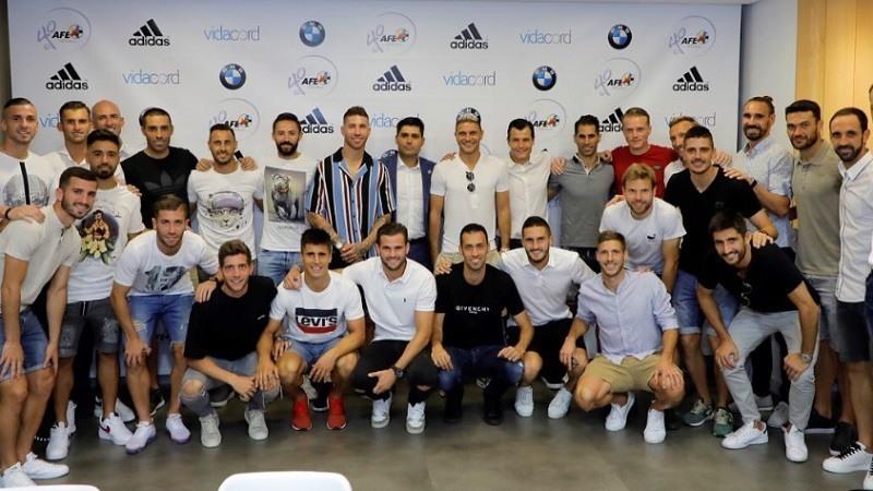 Reunion de capitanes y futbolistas de Primera Division en AFE