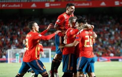 España se exhibe ante Croacia con un contundente 6-0