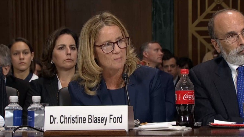 Christine Blasey Ford acusa de agresion sexual al candidato de Trump al Supremo