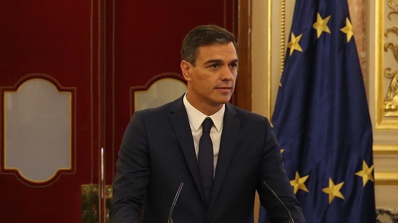 El presidente del Gobierno, Pedro Sanchez