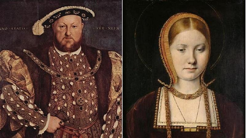 Enrique VIII y Catalina de Aragon