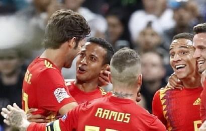 La selección española vence y convence frente a Inglaterra en el estreno de Luis Enrique