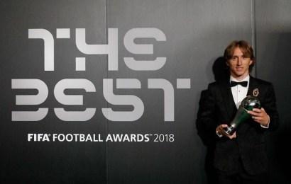 Luka Modric gana el premio The Best 2018 de la FIFA y rompe con el duopolio