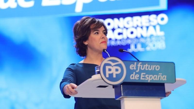 Santamaría planta a Casado al no acudir a la primera reunión del Grupo Parlamentario Popular en el Congreso