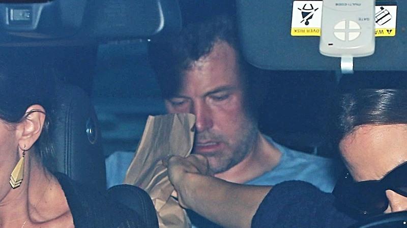 Ben Affleck nuevamente en rehabilitacion
