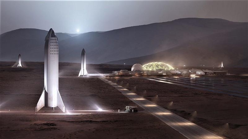 Elon Musk quiere salvar a la humanidad con una nave interplanetaria