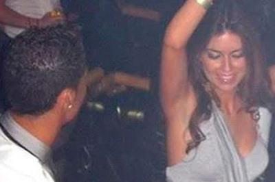 Imagen de la noche que se conocieron Ronaldo y Kathryn Mayorga