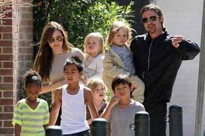 La custodia de los hijo de Brad Pitt y Angelina Jolie