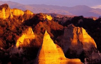 Las pirámides de Melnik, una curiosa creación de la naturaleza