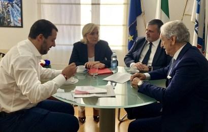 Salvini y Le Pen lanzan una candidatura conjunta para las próximas elecciones europeas