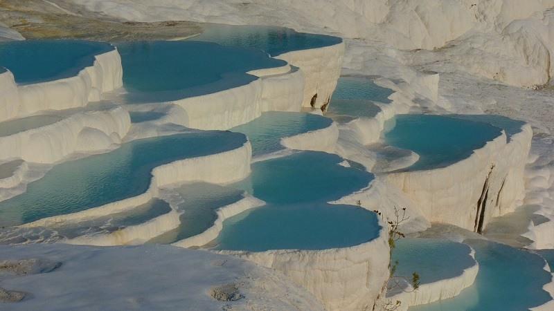 Pamukkale, una maravilla de la naturaleza