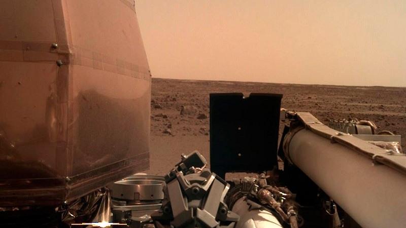 La sonda InSight de la Nasa aterrizó con éxito en Marte