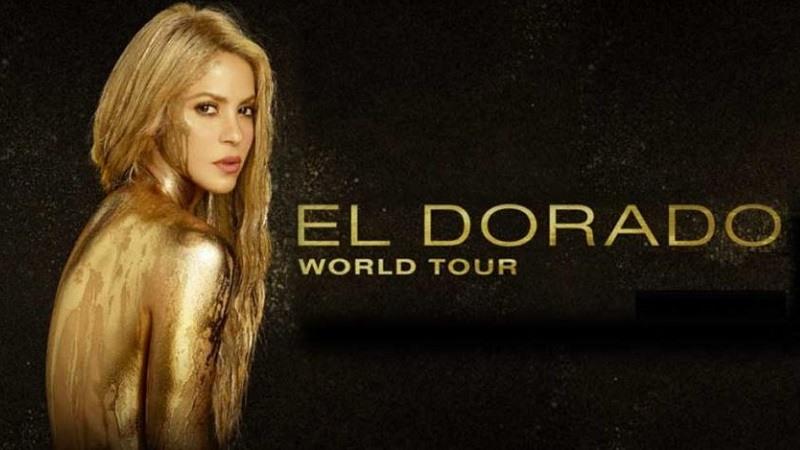 Shakira y El Dorado World Tour por Latinoamerica