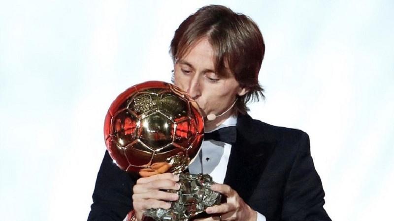 Modric gana el Balon de Oro 2018