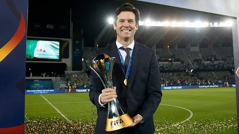 Solari ya es campeon del mundo de clubes como entrenador del Real Madrid
