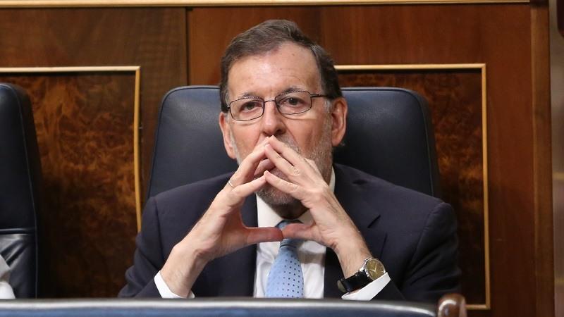Mariano Rajoy expresidente del Gobierno declara en el juicio del proces