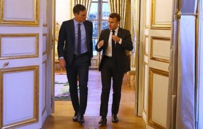 Macron recibe en el Elíseo a Sánchez para abordar una alianza de fuerzas progresistas y europeístas que frene a la ultraderecha