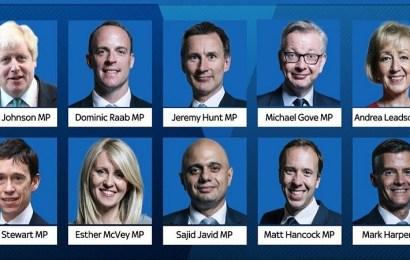 ¿Quiénes son los diez candidatos consevadores para reemplazar a Theresa May?