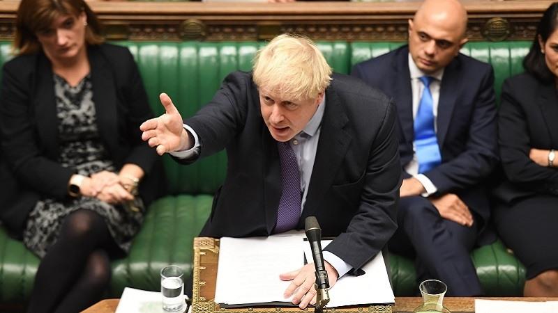 Parlamento britanico Johnson