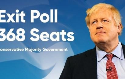 Boris Johnson consigue la mayoría absoluta en el Parlamento británico