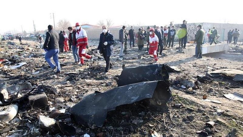 Avion estrellado en iran