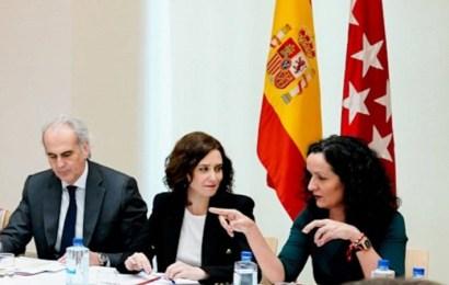 Dimite la directora general de Salud Pública de Madrid, Díaz Ayuso pone al frente del Plan COVID-19 al doctor Antonio Zapatero