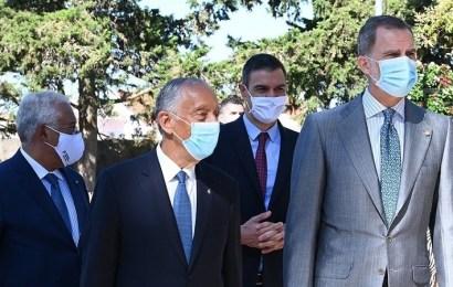 El Rey y el presidente de Portugal reabren la frontera después de tres meses de cierre por el coronavirus