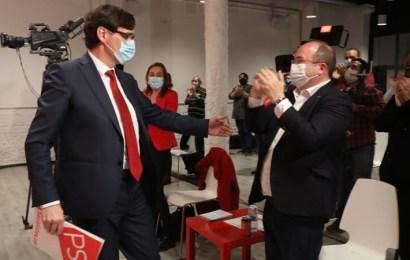 Illa acepta ser el candidato del PSC a la Generalitat tras la renuncia de Iceta