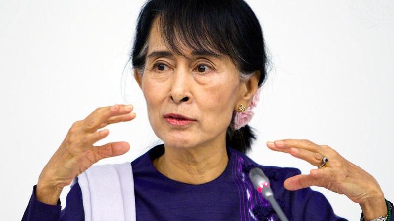 ONU/Rick Bajornas Aung San Suu Kyi