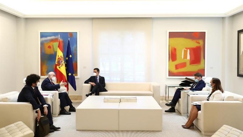 """Sánchez: """"Las medidas para la recuperación tras la pandemia deben transformar los modelos económicos"""""""