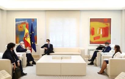 Reunión Moncloa OCDE