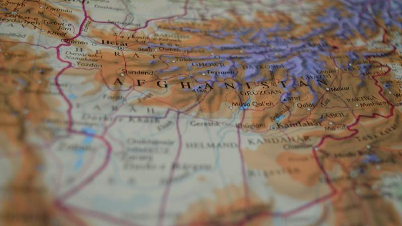 Mapa de Afganistán